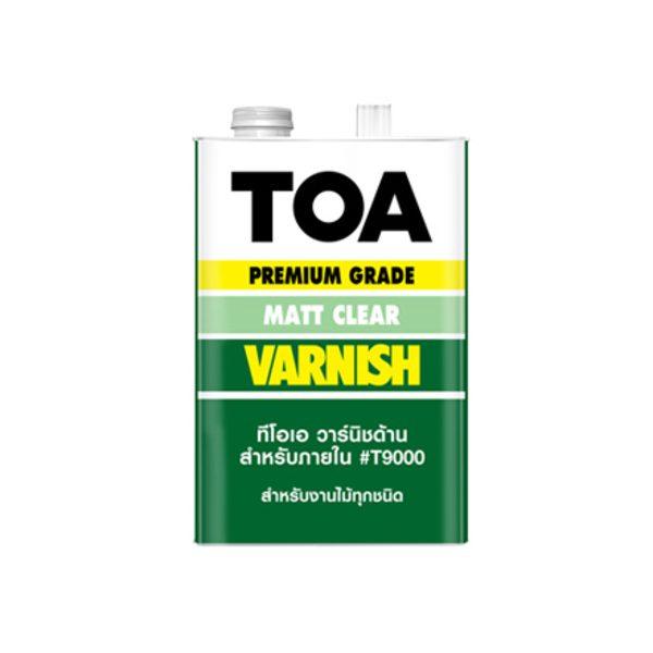 TOA VARNISH T-9000 ชนิดด้าน สำหรับภายใน