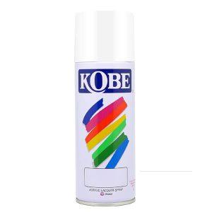 KOBE F100 สีสเปรย์รองพื้นขาวด้าน