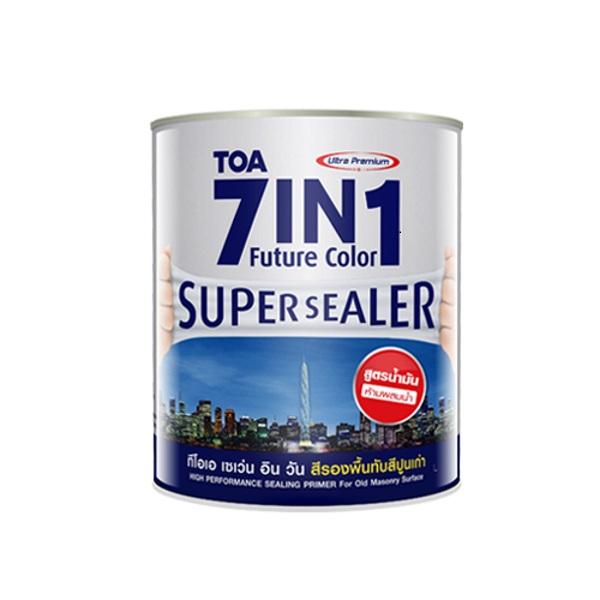 TOA 7IN1 Future Color Supersealer สูตรน้ำมัน สีรองพื้นปูนเก่า