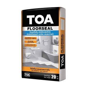 TOA Floorseal ซีเมนต์กันซึม ชนิดยืดหยุ่น 20 กก.