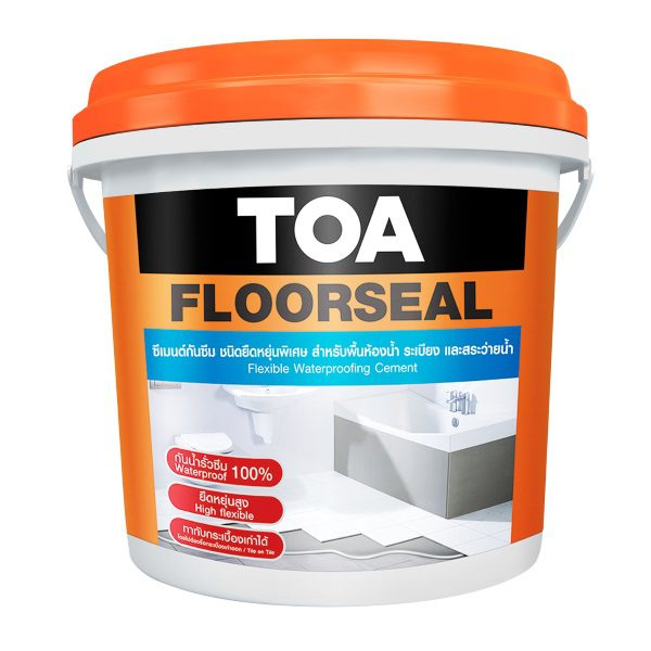 TOA Floorseal ซีเมนต์กันซึม ชนิดยืดหยุ่น 4 กก.