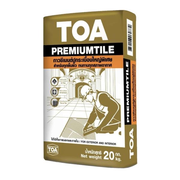 TOA Premiumtile กาวซีเมนต์ ทีโอเอพรีเมียมไทล์