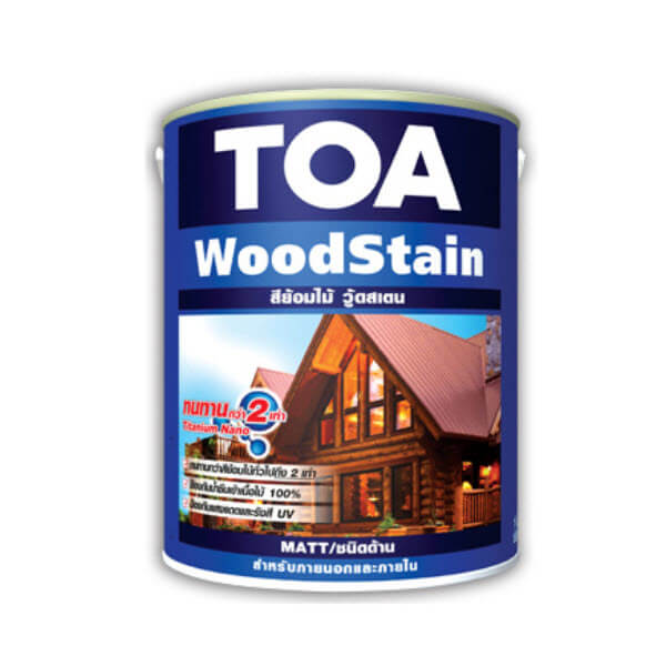 TOA Wood Stain Matt ชนิดด้าน สีย้อมไม้