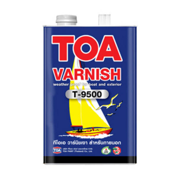 TOA VARNISH T-9500 ชนิดเงา สำหรับภายนอก
