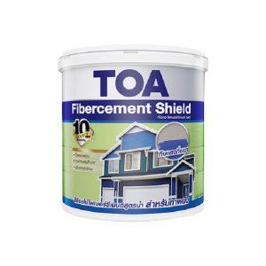 TOA Fibercement Shield ชนิดกึ่งเงา แบบทึบแสง