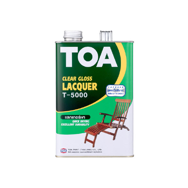 TOA LACQUER แลกเกอร์เงา T-5000