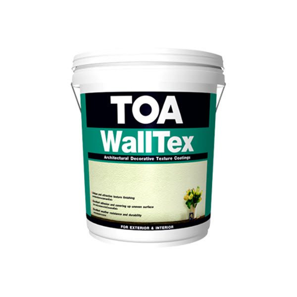 TOA WALLTEX สีเท็กซ์เจอร์ผสมสำเร็จรูปพร้อมใช้