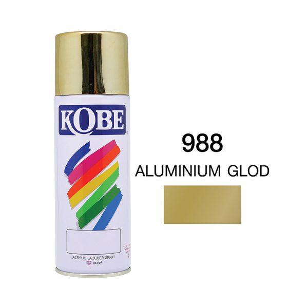 โกเบ สเปรย์ อเนกประสงค์ (988 aluminnium glod)