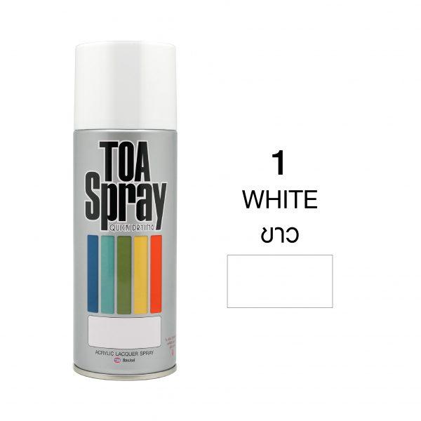 ทีโอเอ สเปรย์ อเนกประสงค์(1 white)