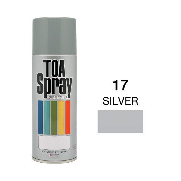ทีโอเอ สเปรย์ อเนกประสงค์(17silver)