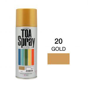 ทีโอเอ สเปรย์ อเนกประสงค์(20 gold)