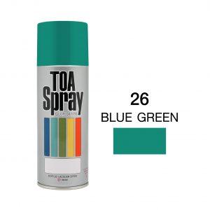 ทีโอเอ สเปรย์ อเนกประสงค์(26 blue greeen)