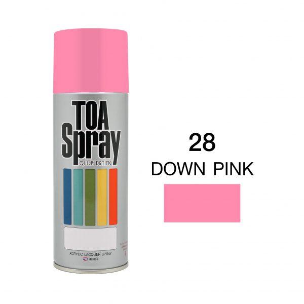 ทีโอเอ สเปรย์ อเนกประสงค์(28 down pink)