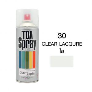 ทีโอเอ สเปรย์ อเนกประสงค์(30 clear lacqure)