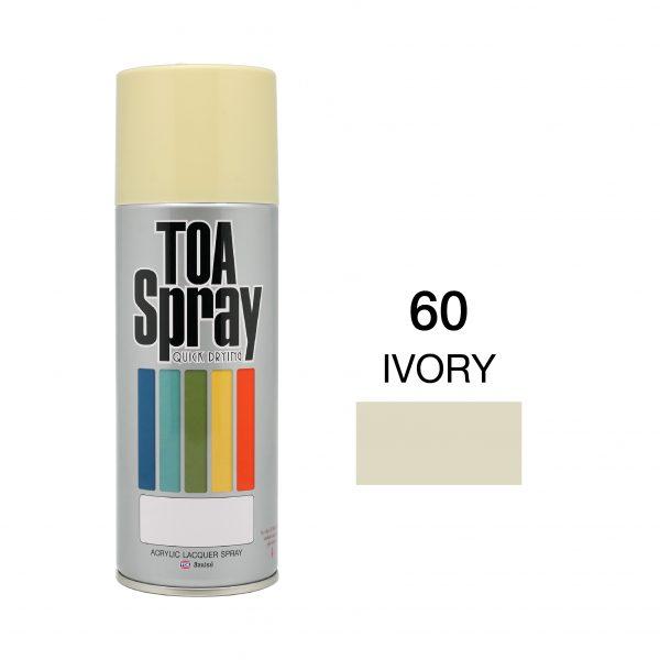 ทีโอเอ สเปรย์ อเนกประสงค์(60 ivory)
