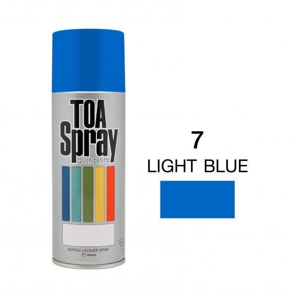 ทีโอเอ สเปรย์ อเนกประสงค์(7 light blue)