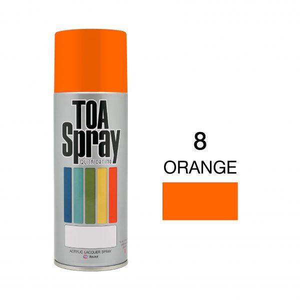 ทีโอเอ สเปรย์ อเนกประสงค์(8 orange)