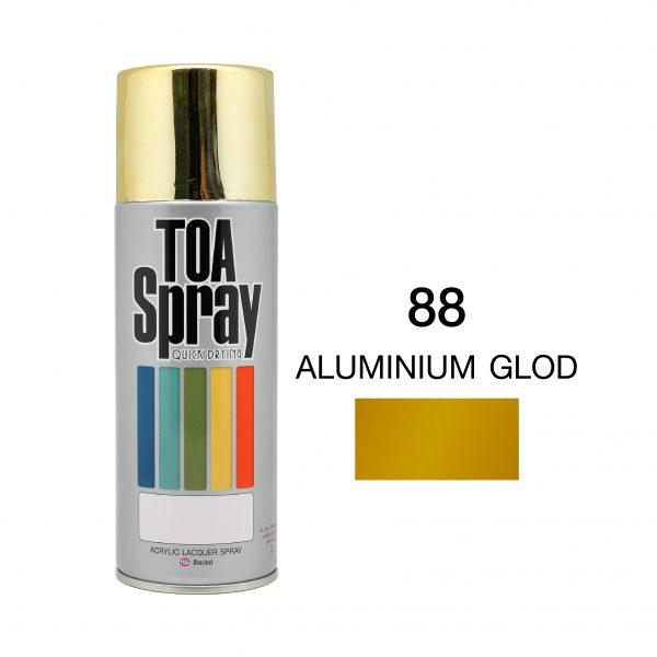 ทีโอเอ สเปรย์ อเนกประสงค์(88 aluminium glod)