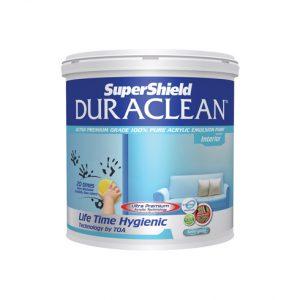 ซุปเปอร์ชิลด์ ดูราคลีน สีน้ำอะคริลิก ชนิดกึ่งเงา