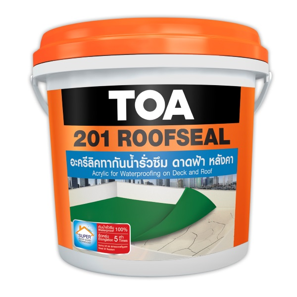 TOA 201 Roofseal อะคริลิกกันซึม 20 กก.